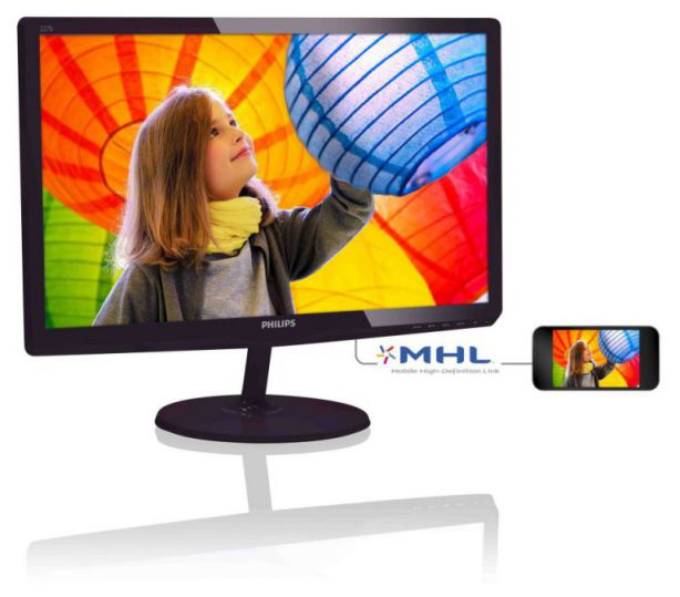 Ver Philips Monitor LCD 227E6LDSD