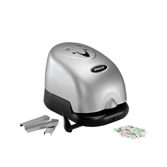 Rexel Grapadora y perforadora electrica Polaris 1420 p
