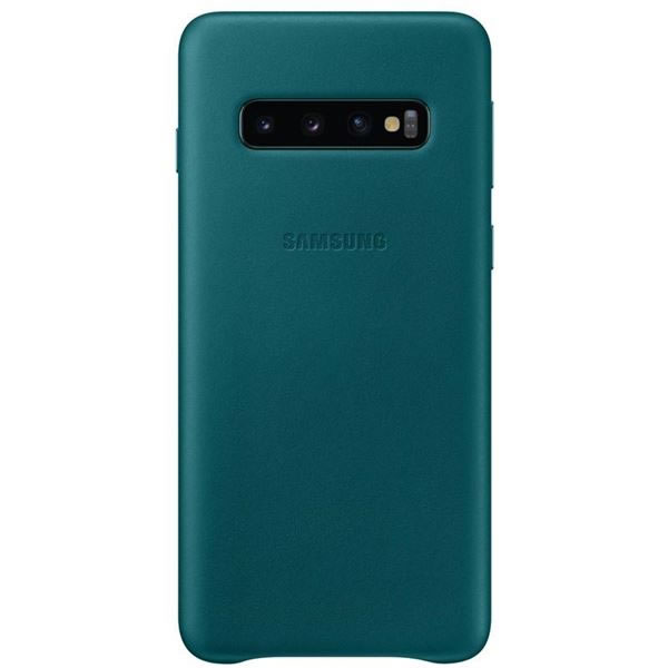 SAMSUNG COVER PELLE GALAXY S10 VERDE