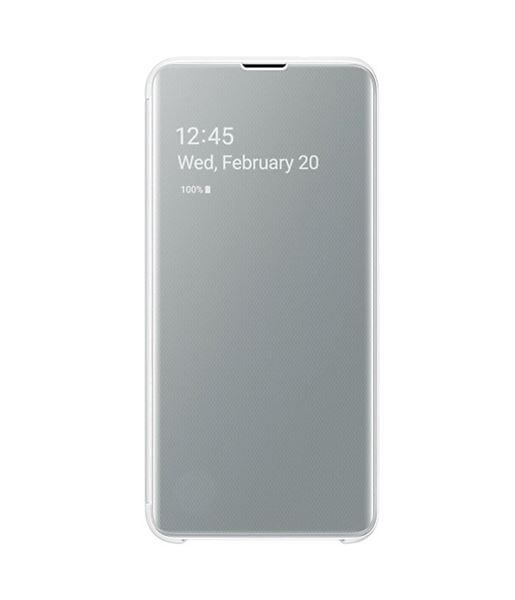 Samsung CLEAR VIEW COVER GALAXY S10e BLANCO