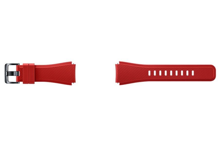 Samsung ET YSU76MREGWW Watch strap Silicona Rojo