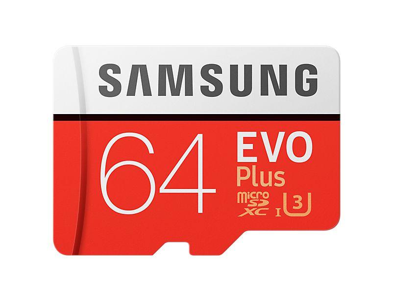 Samsung EVO Plus MB MC64G 64GB MicroSDXC UHS I Clase 10