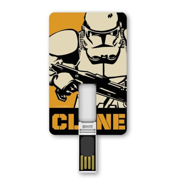 Ver Silver HT ICONIC CARD STAR WARS 8GB Clone