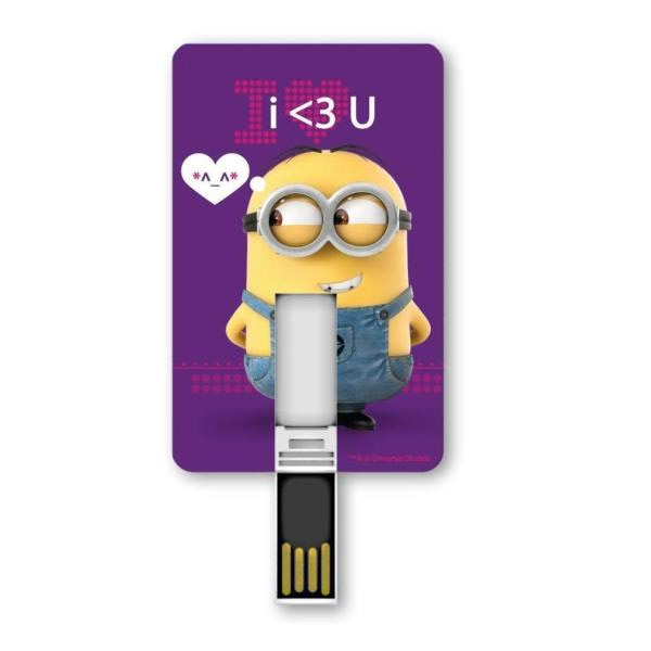 Ver Silver HT MINION 8 GB I LOVE YOU