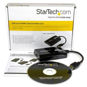 Startechcom Adaptador Grafico Externo Multi Monitor Usb 30 A Hdmi Hd Certificado Displaylink Para Mac Y Pc