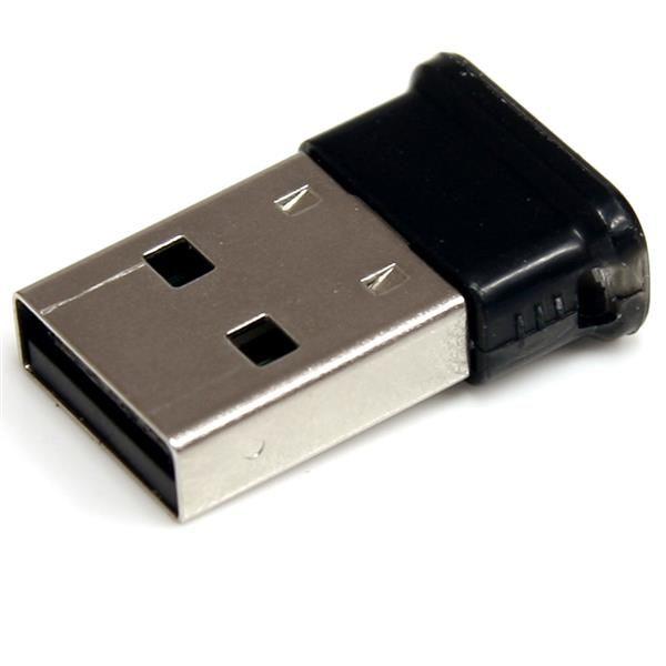 StarTechcom Adaptador Mini USB a Bluetooth 2 1 Adaptador de Red Inalambrico con EDR Clase 1