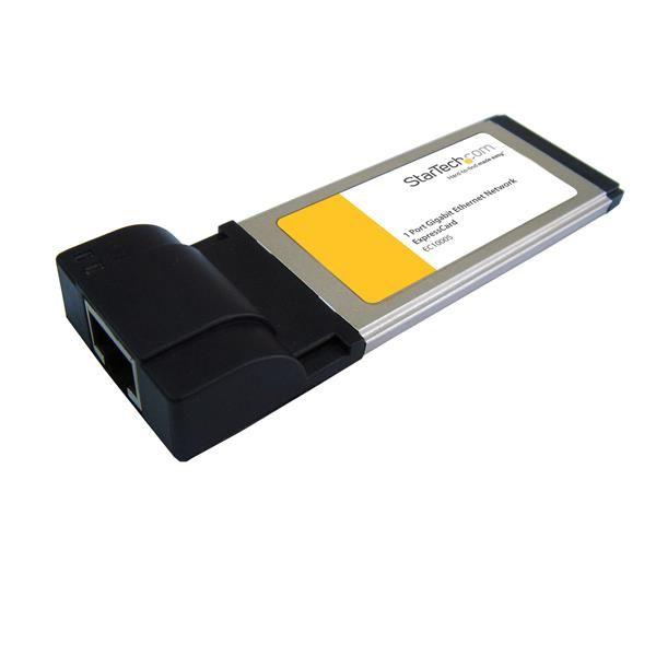 StarTechcom Adaptador Tarjeta de Red de 1 Puerto Gigabit Ethernet NIC ExpressCard
