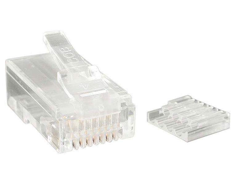 StarTechcom CRJ45C6STR50 RJ 45 Transparente conector