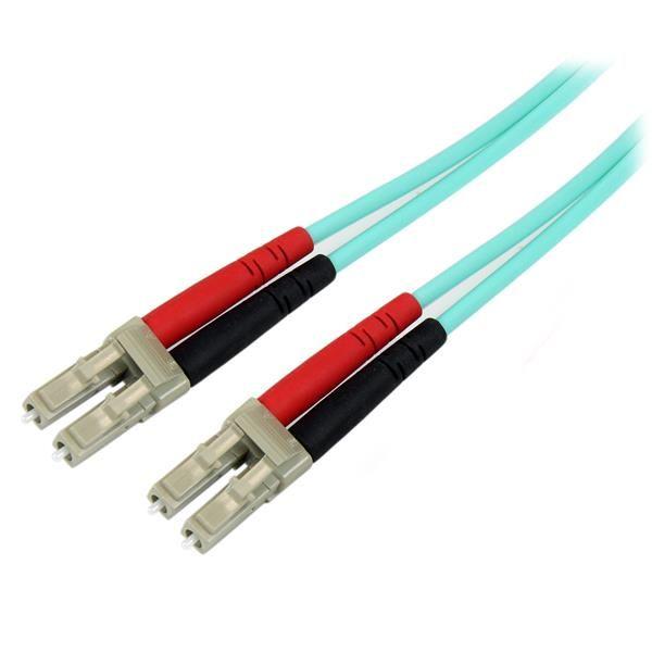 Ver StarTechcom Cable de Fibra Optica LC a LC de 2m Duplex Multimodo 50 2M