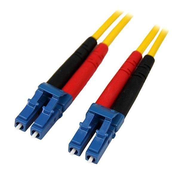 StarTechcom Cable de Red de 4m Monomodo Duplex Fibra Optica LC LC 9