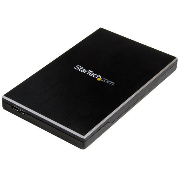 Ver StarTechcom Caja USB 31 Gen 2 de 1 bahia de 2 5 pulgadas SATA III