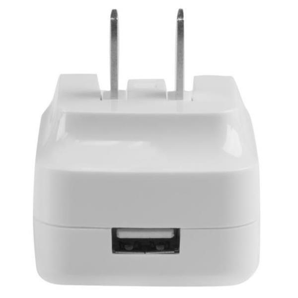 StarTechcom Cargador de Pared USB con funcion de carga rapida Quick Charge 20  Cargador blanco para viajes