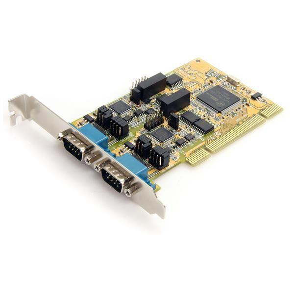 Ver StarTechcom PCI2S232485I tarjeta y adaptador de interfaz