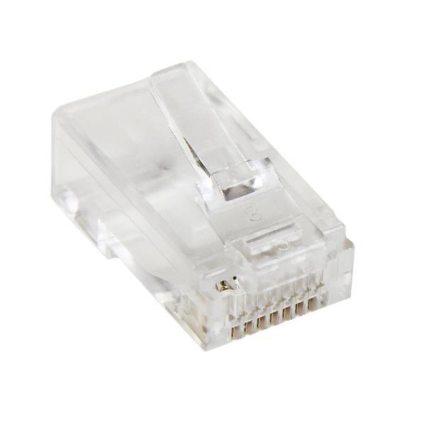 StarTechcom Paquete de 50 Unidades de Conectores RJ45 Cat5e