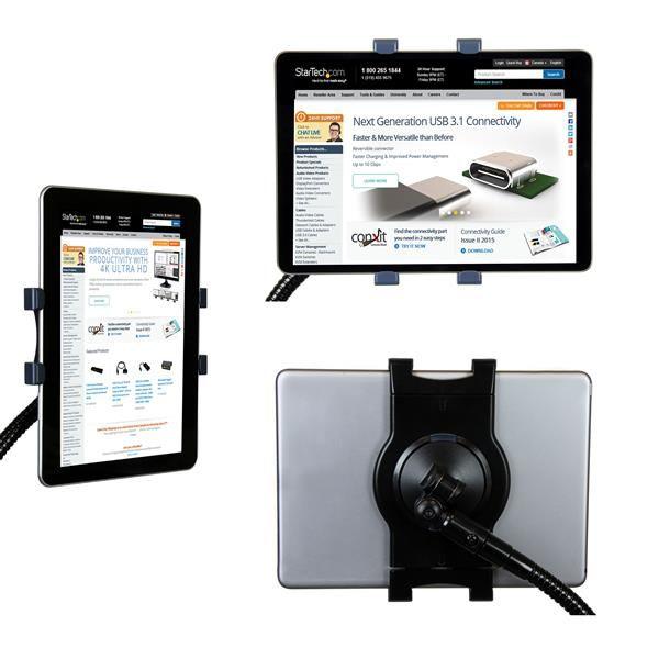 Startechcom Soporte Con Cuello De Cisne Para Tablet