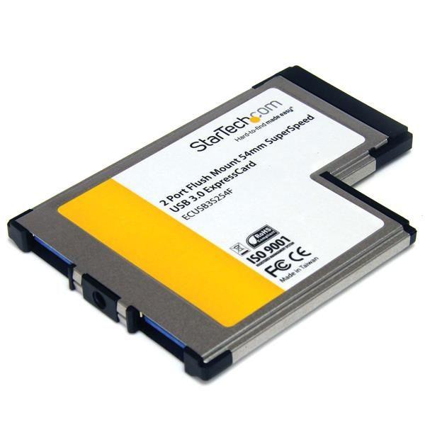 Ver StarTechcom Tarjeta Adaptador ExpressCard ECUSB3S22