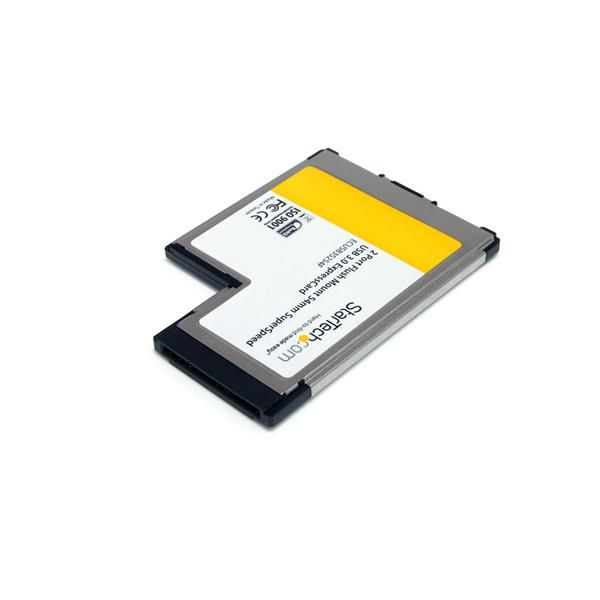Startechcom Tarjeta Adaptador Expresscard Ecusb3s22