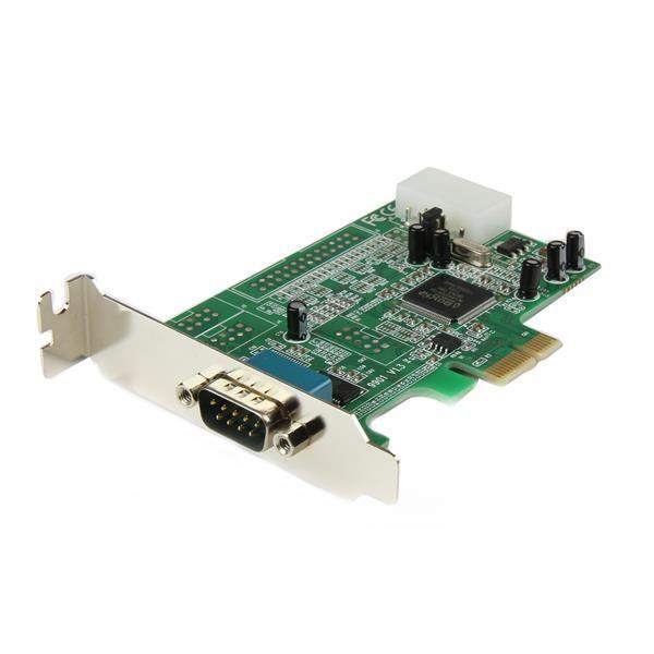 Ver StarTechcom Tarjeta Adaptadora PCI Express PCIe Perfil Bajo de un Puerto Serie RS232 DB9 UART 16550