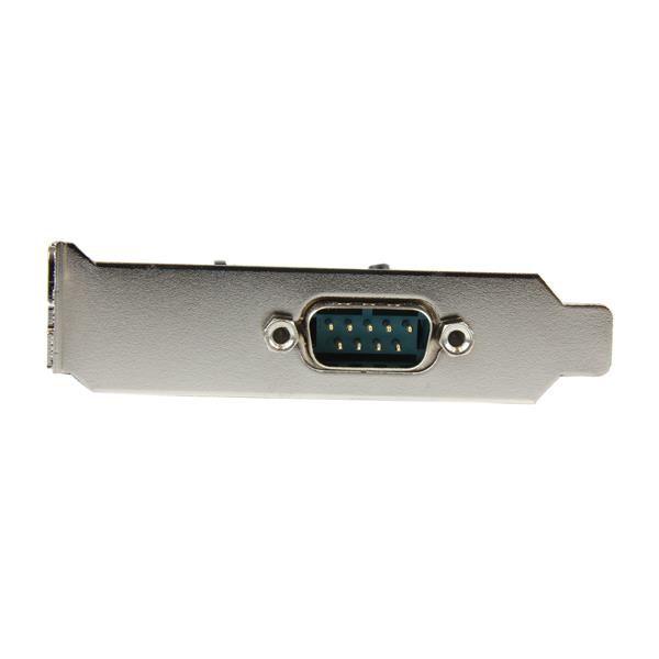 Startechcom Tarjeta Adaptadora Pci Express Pcie Perfil Bajo De Un Puerto Serie Rs232 Db9 Uart 16550