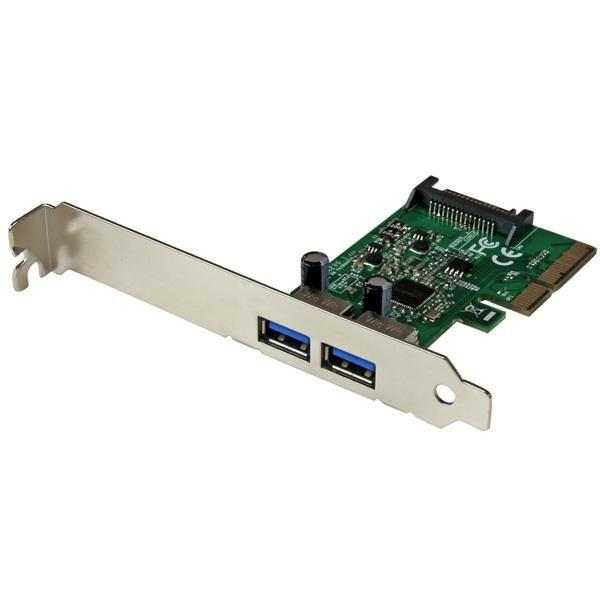 StarTechcom Tarjeta PCI Express de 2 Puertos USB 31 Gen 2 USB A