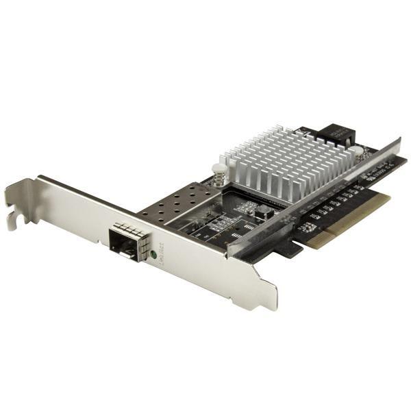 StarTechcom Tarjeta de Red PCI Express 10G con Ranura SFP Abierta  Chipset Intel  Multimodo y Monomodo