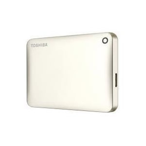 Ver TOSHIBA Canvio Connect II 3 TB ORO
