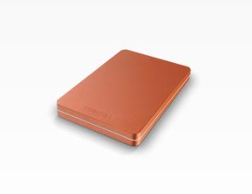 Toshiba Canvio Alu 500 GB 500GB Rojo