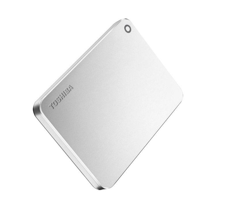 Ver Toshiba Canvio Premium 1TB Metalico Plata