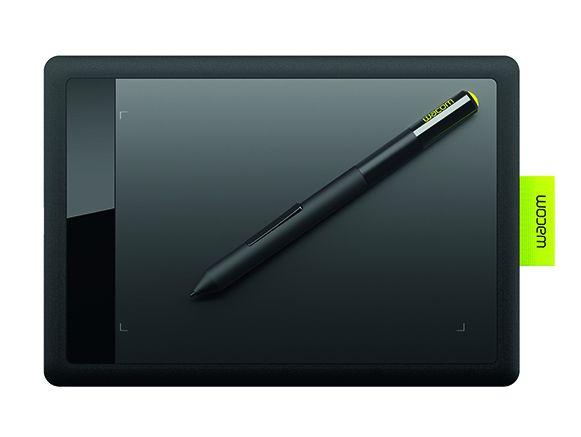 Wacom CTL 471 2540lineas por pulgada 152 x 95mm USB Negro Verde Cal