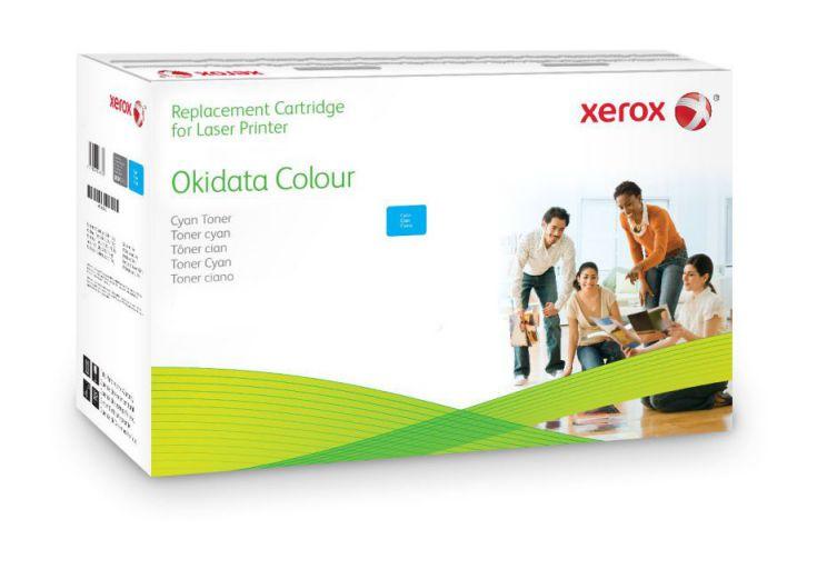 Xerox Cartucho de toner cian Equivalente a Oki 44469724 Compatible con Oki C510 C511 C530 C531 MC561 MC562