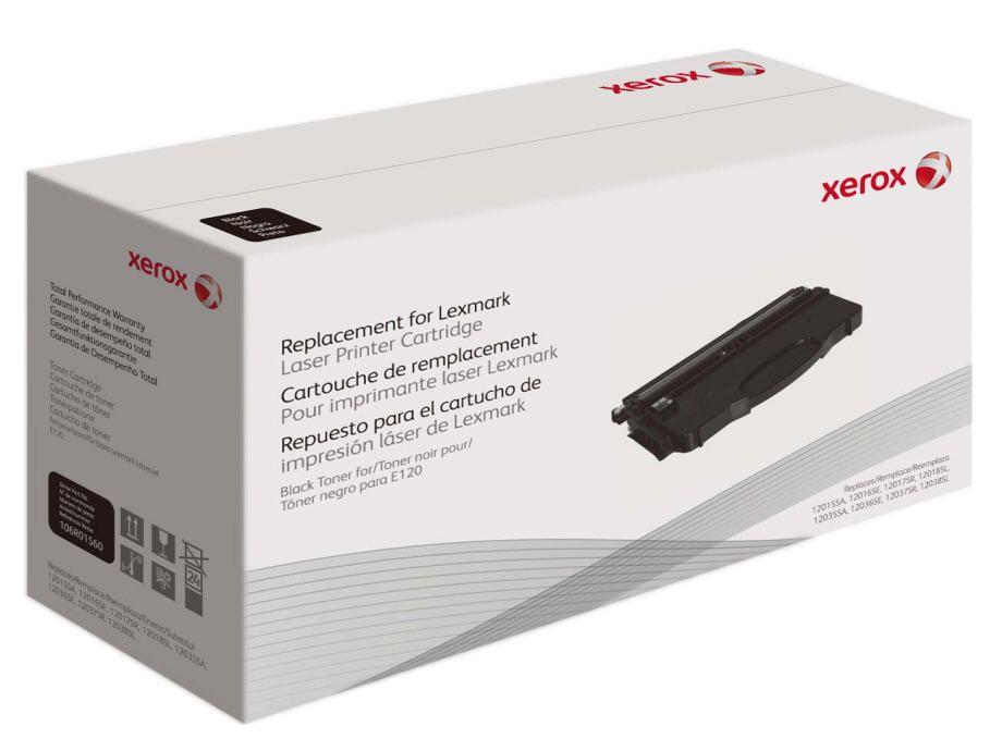 Xerox Cartucho de toner negro Equivalente a Lexmark E260A21E E260A11E