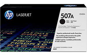 Ver HP CONSUMIBLE Cartucho de toner negro HP 507A LaserJet