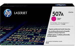 Hp Consumible Cartucho De Toner Magenta Hp 507a Laserjet