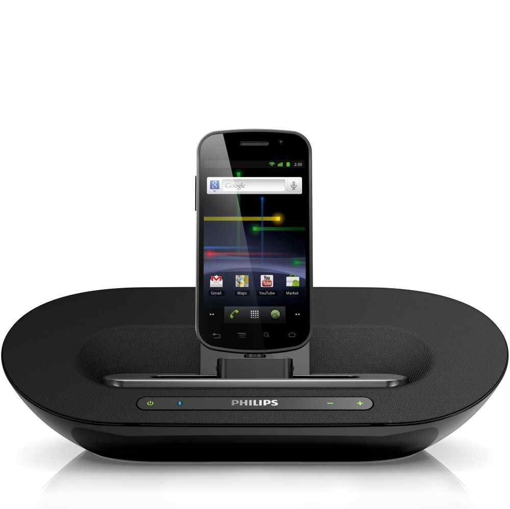 Philips As351 Para Android Altavoz Base Con Bluetooth