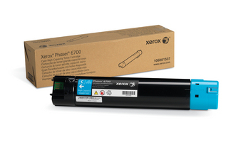 Xerox Cyan High Capacity Toner Cartridge  12000 Paginas  Phaser 6700