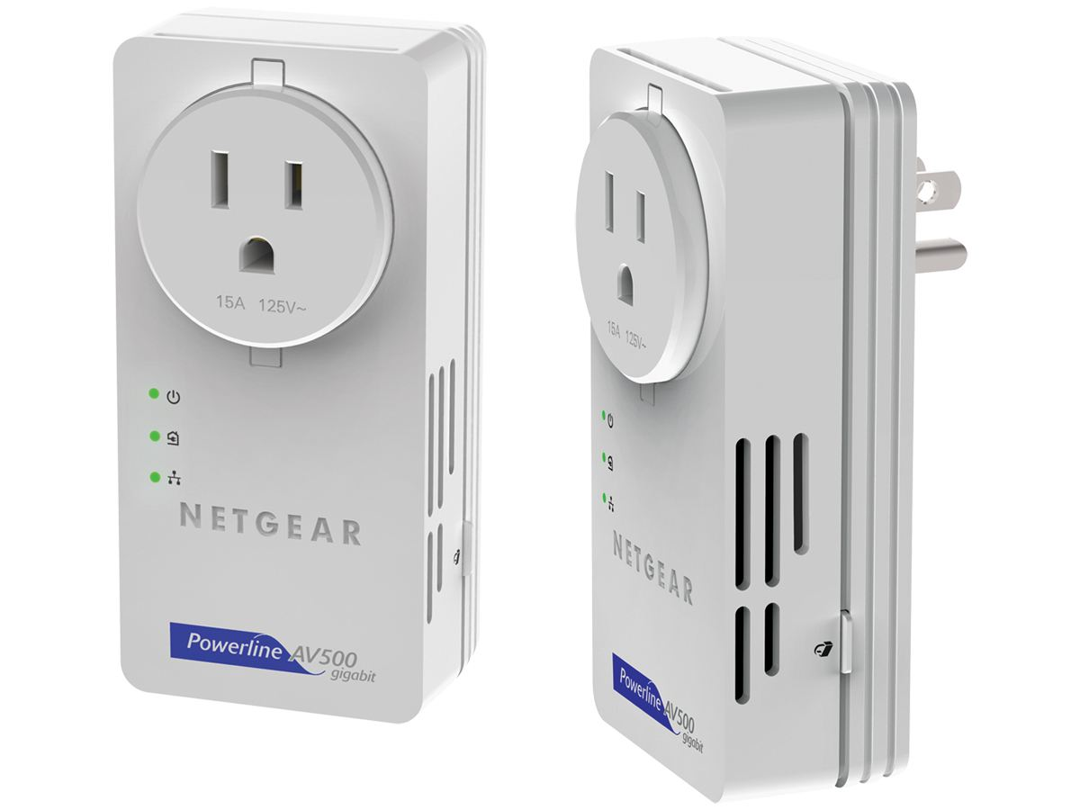 Netgear Powerline Av  500 N Kit