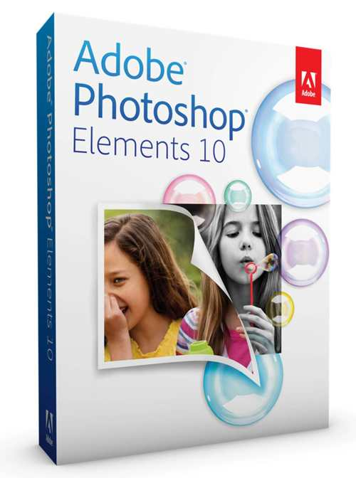 Adobe Photoshop Elements 10  Win  Rtl  Esp