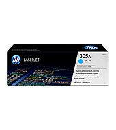 Ver HP CONSUMIBLE Cartucho de toner cian HP 305A LaserJet