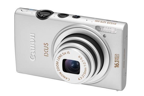 Canon 125 Hs Plata
