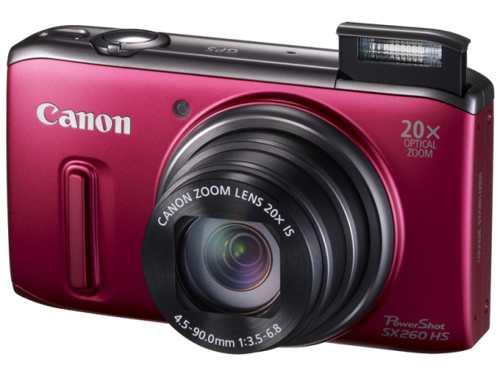 Canon Sx260 Hs