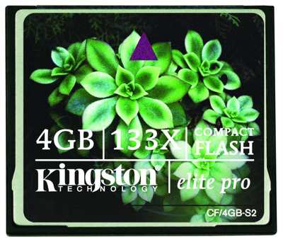 Kingston 4gb Cf Card