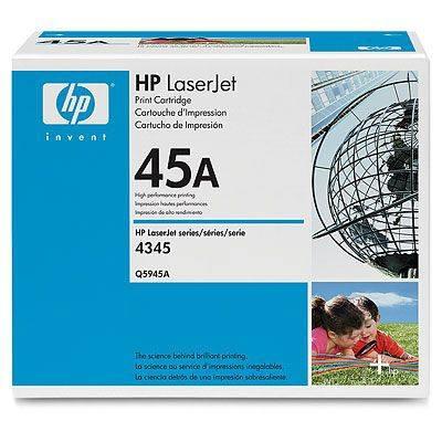 HP CONSUMIBLE Cartucho negro de impresion HP LaserJet Q5945A