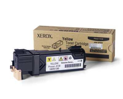 Xerox Cartucho De Toner Amarillo Para Phaser 6130