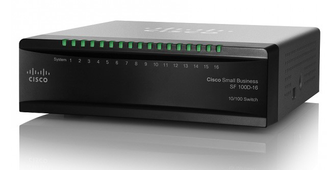 Cisco Sf100d-16