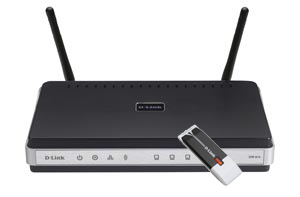 D-link 80211n Router   Usb Adapter