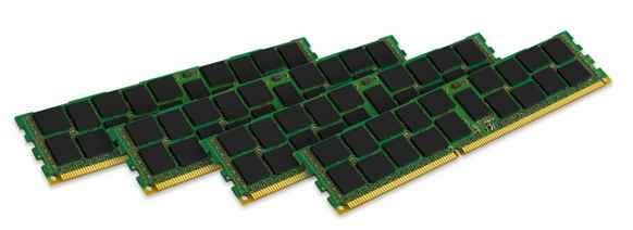Kingston 4 X 4gb Ddr3 1600mhz Ecc Kth-pl3168k416g