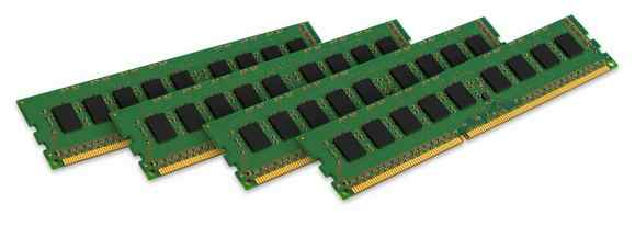 Kingston 4 X 2gb Ddr3 1600mhz Ecc Ktd-pe316esk48g