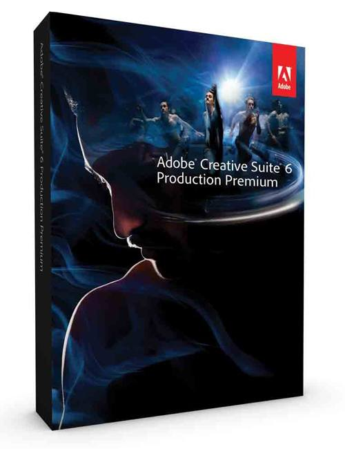 Adobe Cs6 Production Premium  Win  Dvd  Upg  Esp
