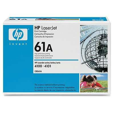 Hp 61a Black Laserjet Toner Cartridge