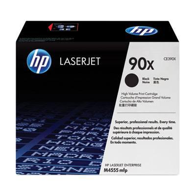 Ver HP CONSUMIBLE Doble paquete de cartuchos de toner negro HP 90X LaserJet